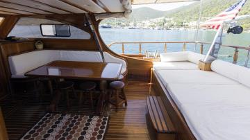 3 cabins Bodrum blue cruise boat Gulet Sea Life S