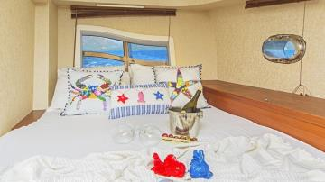 6 cabins Marmaris blue cruise boat Gulet Ayla Sultan