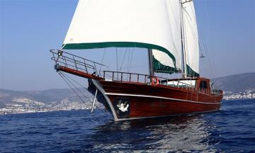4 cabins Bodrum blue cruise boat Gulet Blue Days