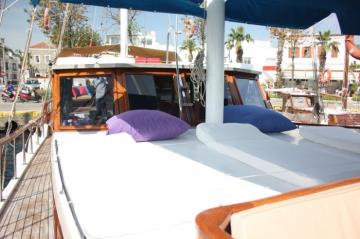 4 cabins Bodrum blue cruise boat Gulet Levant
