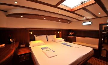3 cabins Fethiye blue cruise boat Gulet Lady Be Good